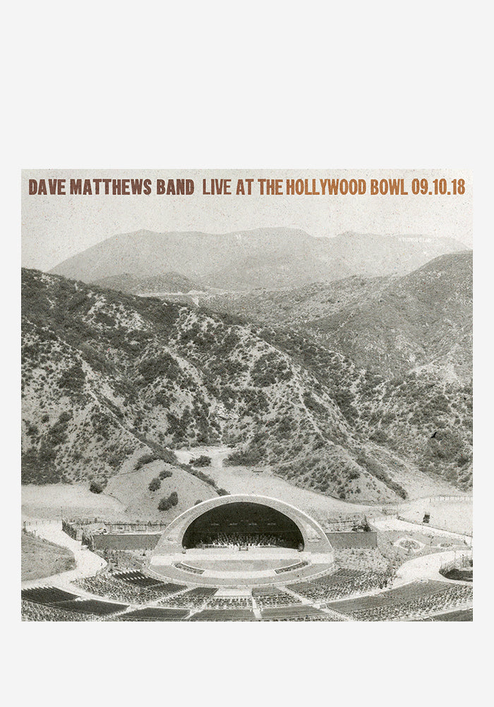 DAVE MATTHEWS BAND Live At The Hollywood Bowl 5LP Box Set