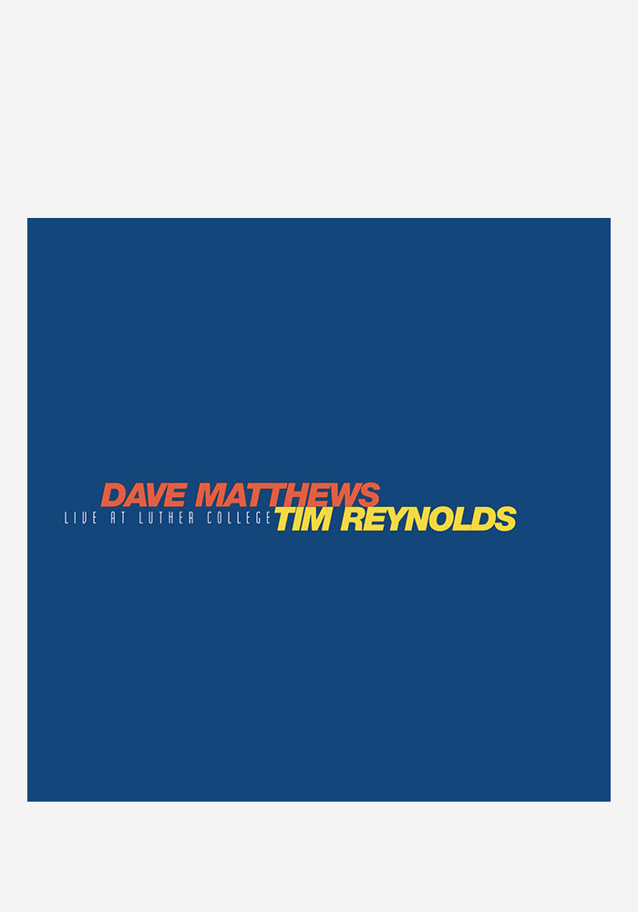 DAVE MATTHEWS / TIM REYNOLDS Live At Luther College 4LP