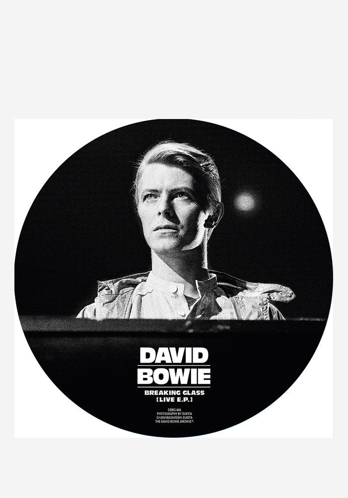 DAVID BOWIE Breaking Glass 40th Anniversary EP Picture Disc