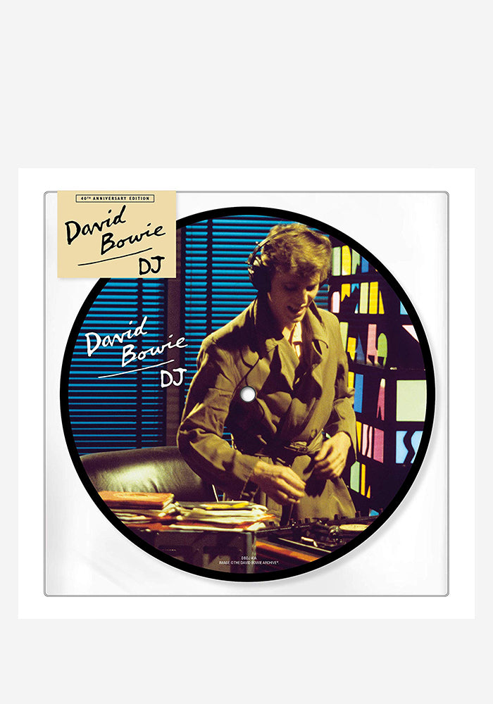 "DAVID BOWIE D.J. 40th Anniversay 7"" (Picture Disc)"