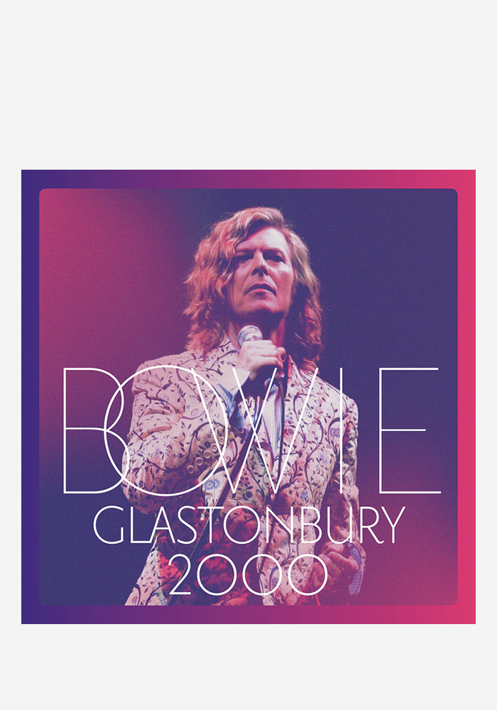 DAVID BOWIE Glastonbury 2000 2CD/DVD