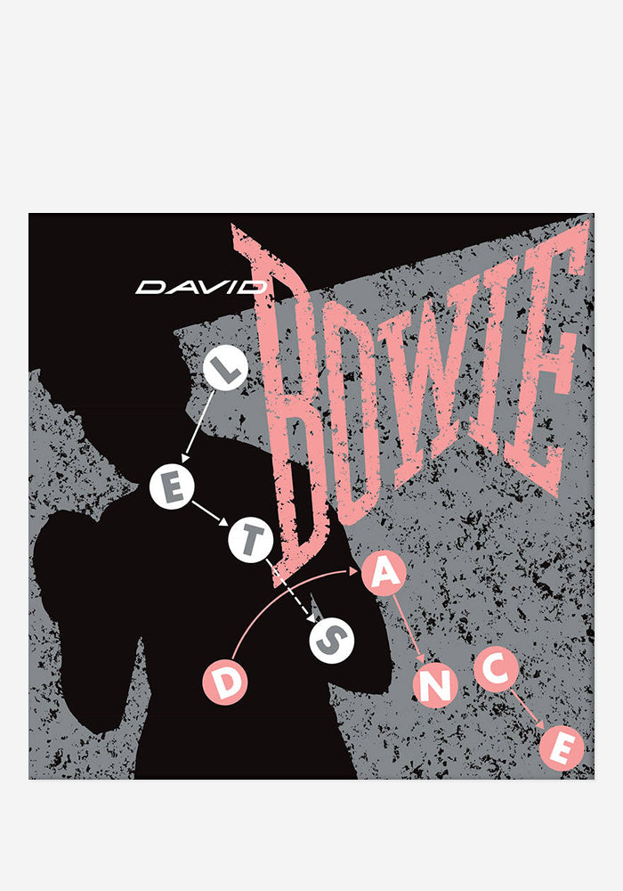 "DAVID BOWIE Let's Dance Demo 12"" Single"