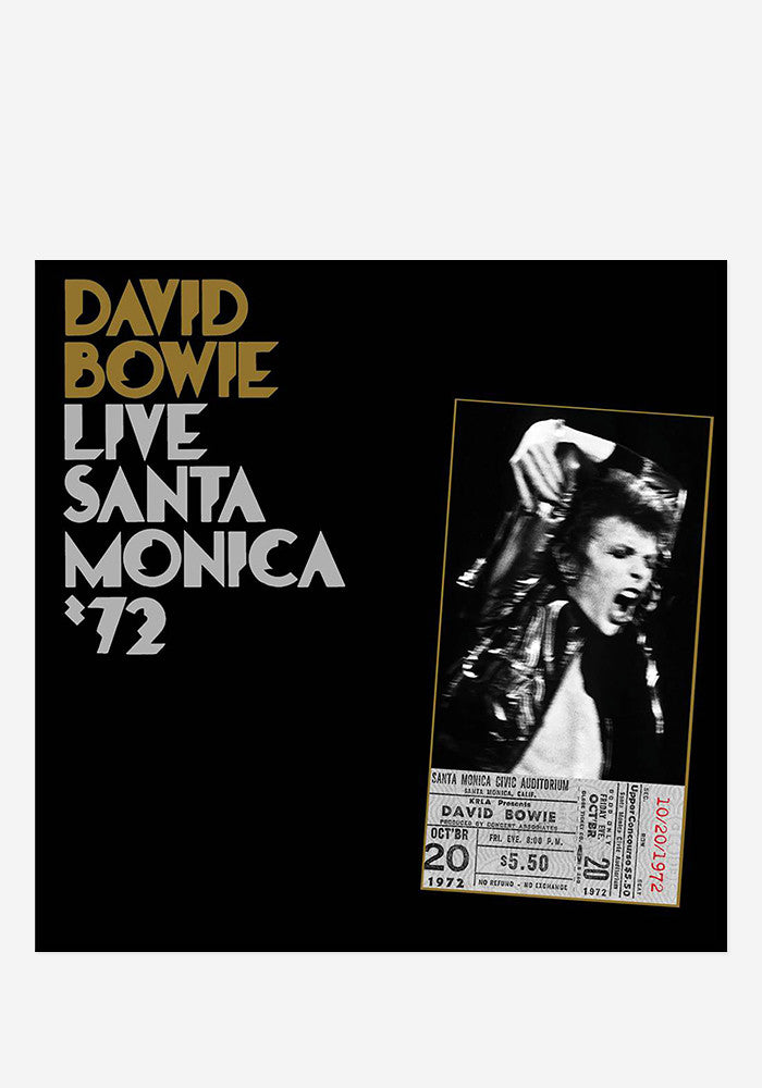 DAVID BOWIE Live Santa Monica '72 2 LP