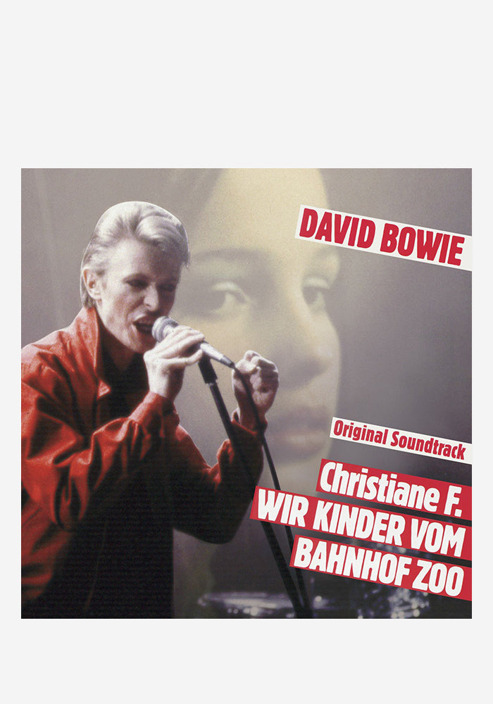 DAVID BOWIE Soundtrack - Christiane F. Wir Kinder Von Bahnoff Zoo LP (Color)