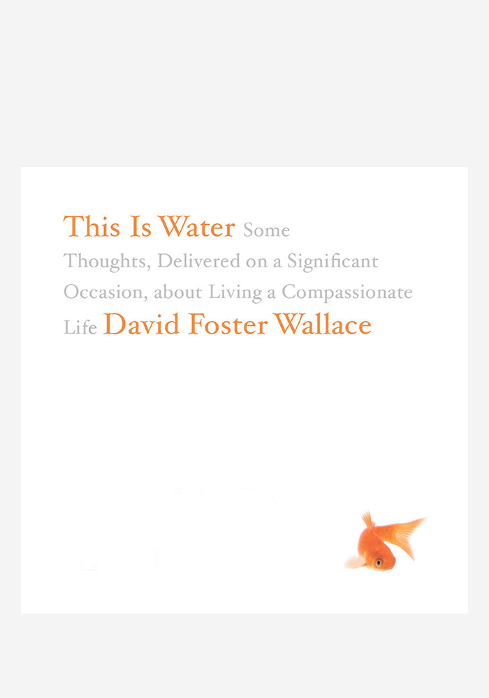 DAVID FOSTER WALLACE This Is Water LP (Color)