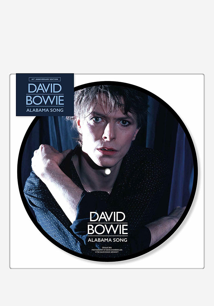 "DAVID BOWIE Alabama Song 40th Anniversary 7"" (Picture Disc)"
