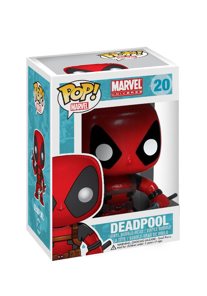 DEADPOOL Funko Pop! Marvel: Deadpool Bobblehead