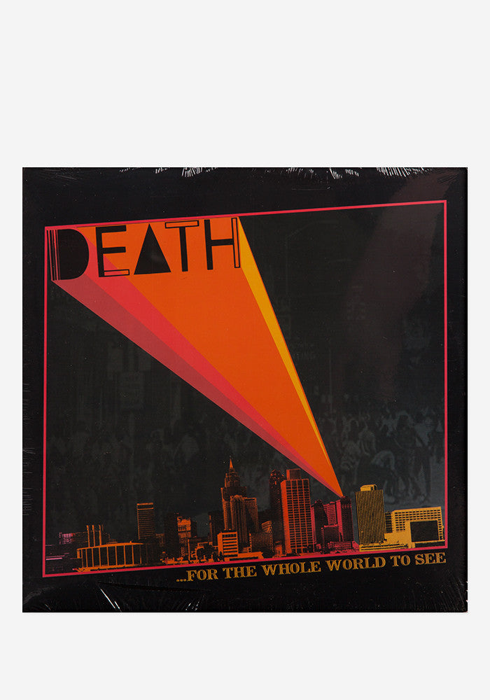 DEATH ...For The Whole World To See LP