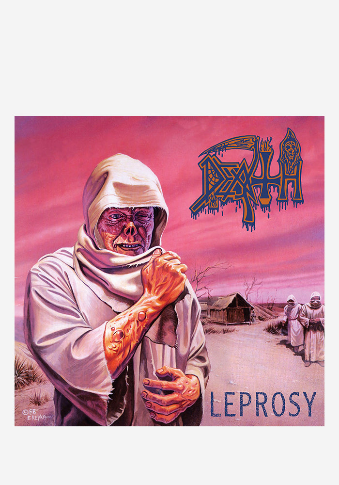 DEATH Leprosy 30th Aniversary 2 LP (Color)