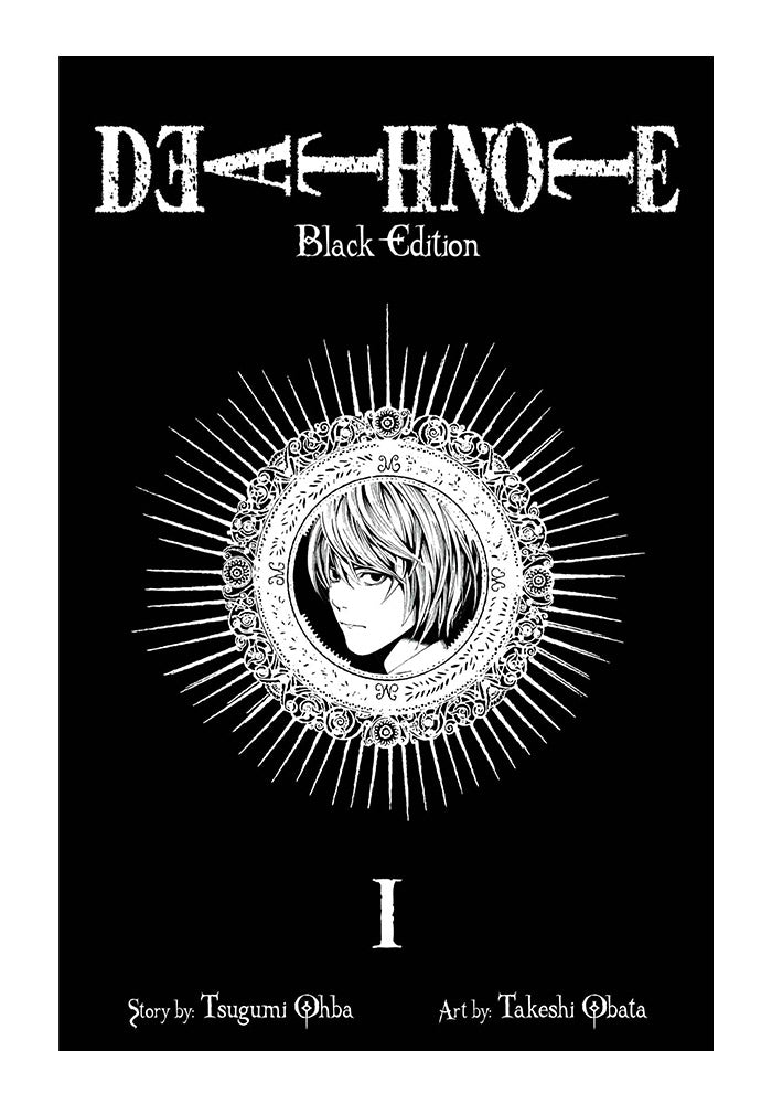 VIZ MEDIA Death Note Black Edition Vol 1 Manga