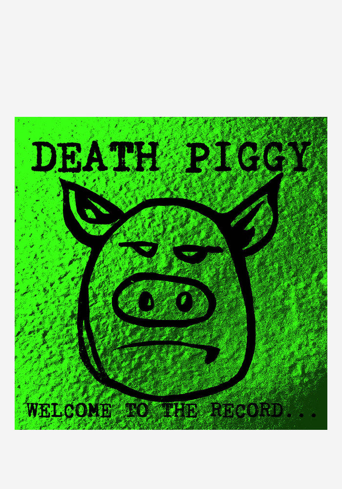 DEATH PIGGY Welcome To The Record LP (Color)