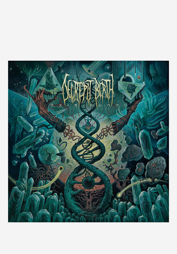 DECREPIT BIRTH Axis Mundi With Autographed CD Booklet