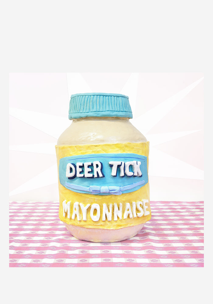 "DEER TICK Mayonnaise Autographed LP + 7"" (Color)"