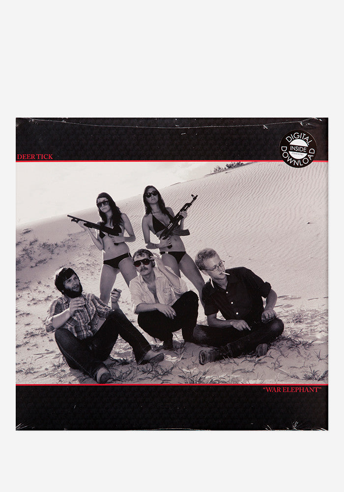 DEER TICK War Elephant LP Download Card