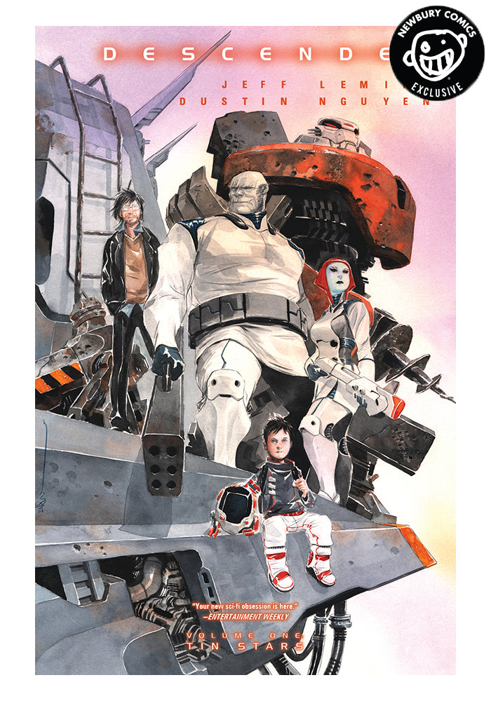 IMAGE COMICS Descender Vol 1 Tin Stars Exclusive Variant Graphic Novel