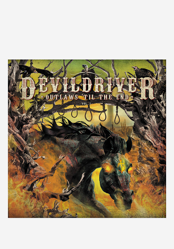 DEVILDRIVER Outlaws 'Til The End Vol. 1 With Autographed CD Booklet