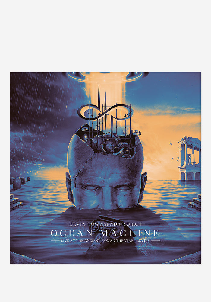 DEVIN TOWNSEND PROJECT Ocean Machine Live At The Ancient Roman Theatre Plovdiv 3CD/DVD With Autographed Postcard