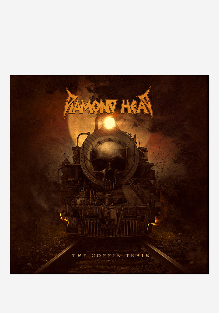 DIAMOND HEAD The Coffin Train CD With Autographed Booklet