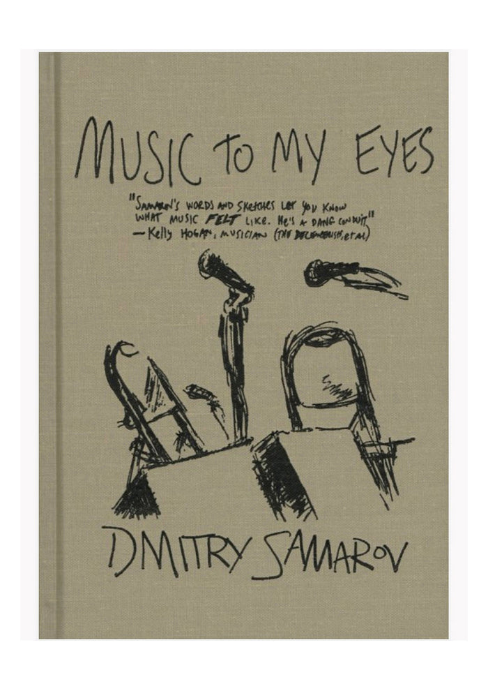 DMITRY SAMAROV Music To My Eyes (Harcover)