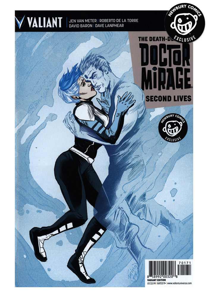 VALIANT ENTERTAINMENT Doctor Mirage #1 Ming Doyle Exclusive Variant Comic