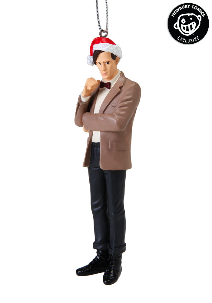 DOCTOR WHO 11th Doctor Santa Hat Ornament
