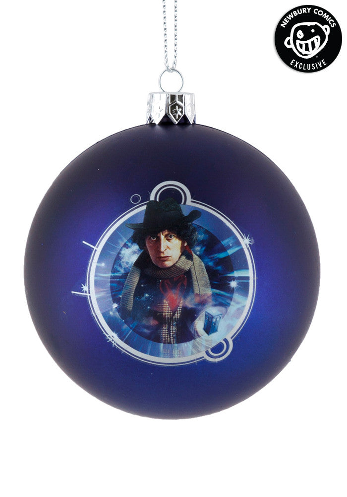 DOCTOR WHO 4th Doctor Shatterproof Ball Ornament