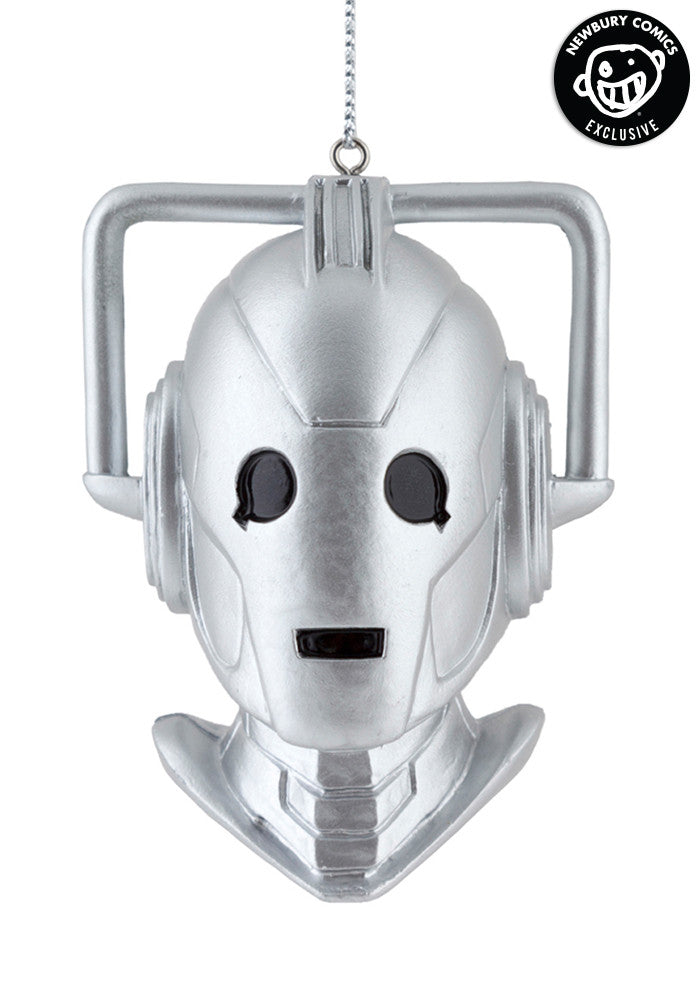 DOCTOR WHO Cyberman Bust Blowmold Ornament