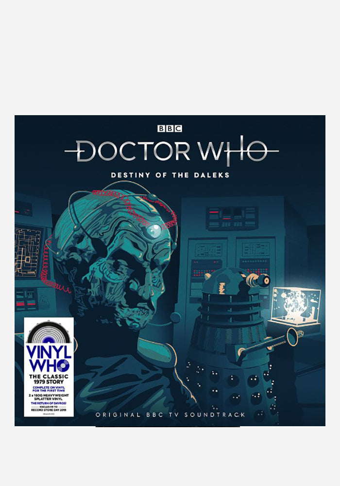 VARIOUS ARTISTS Soundtrack - Doctor Who: Destiny Of The Daleks 2LP (Color)