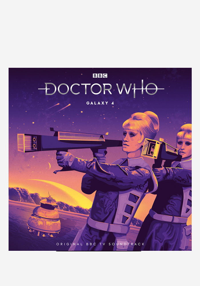 VARIOUS ARTISTS Soundtrack - Doctor Who: Galaxy 4 2LP (Color)
