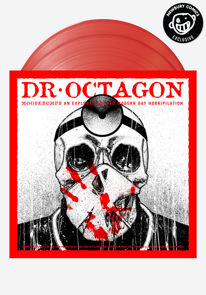 DR. OCTAGON Moosebumps: An Exploration Into Modern Day Horripilation Exclusive 2 LP