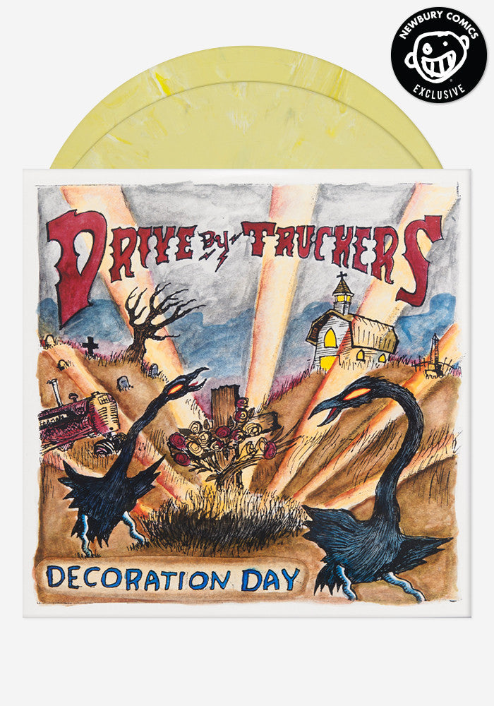 DRIVE-BY TRUCKERS Decoration Day Exclusive 2 LP