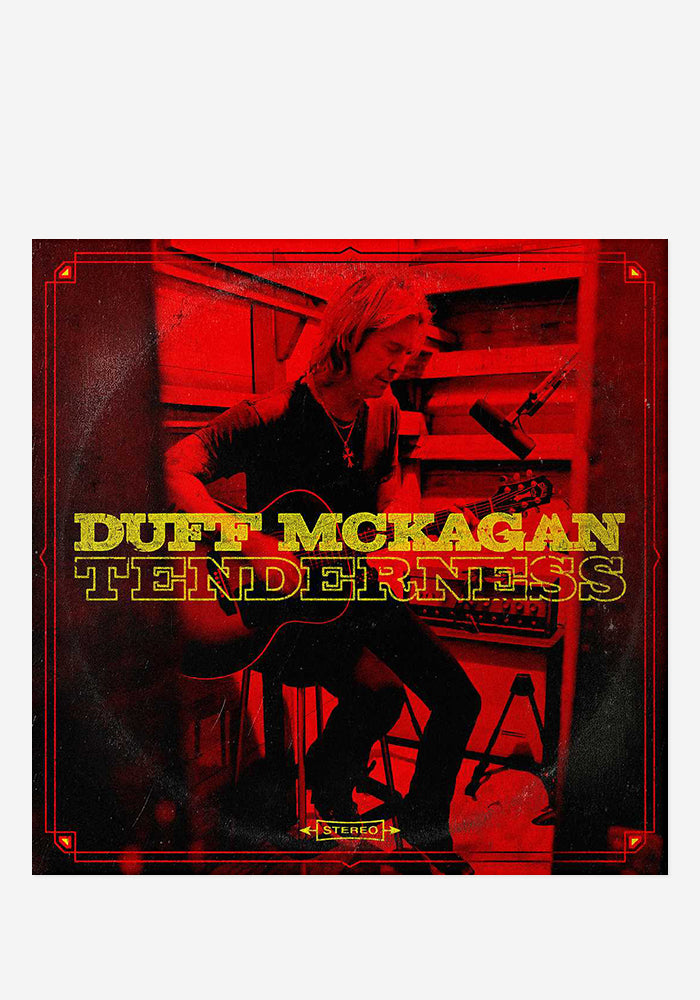 DUFF MCKAGAN Tenderness CD With Autographed Booklet