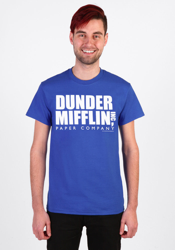THE OFFICE Dunder Mifflin Inc Paper Company T-Shirt
