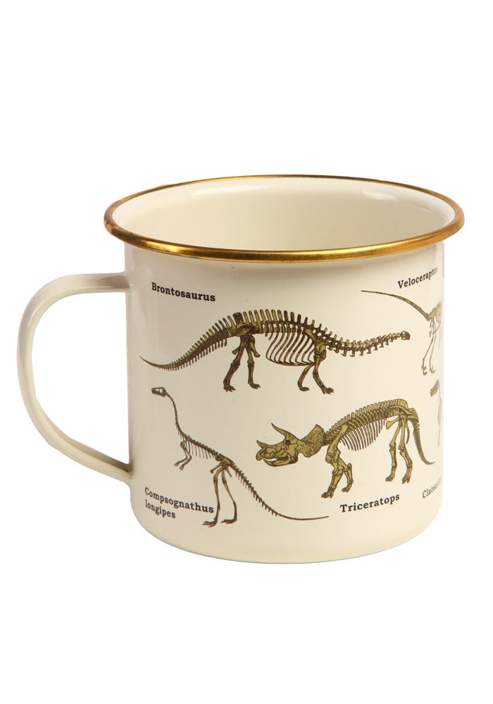 WICKED FUN MUGS Ecologie: Dinosaurum Enamel Mug