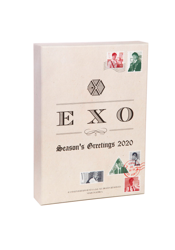 EXO EXO Seasons Greetings 2020 Box Set