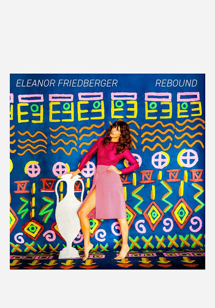 ELEANOR FRIEDBERGER Rebound With Autographed CD Digipak