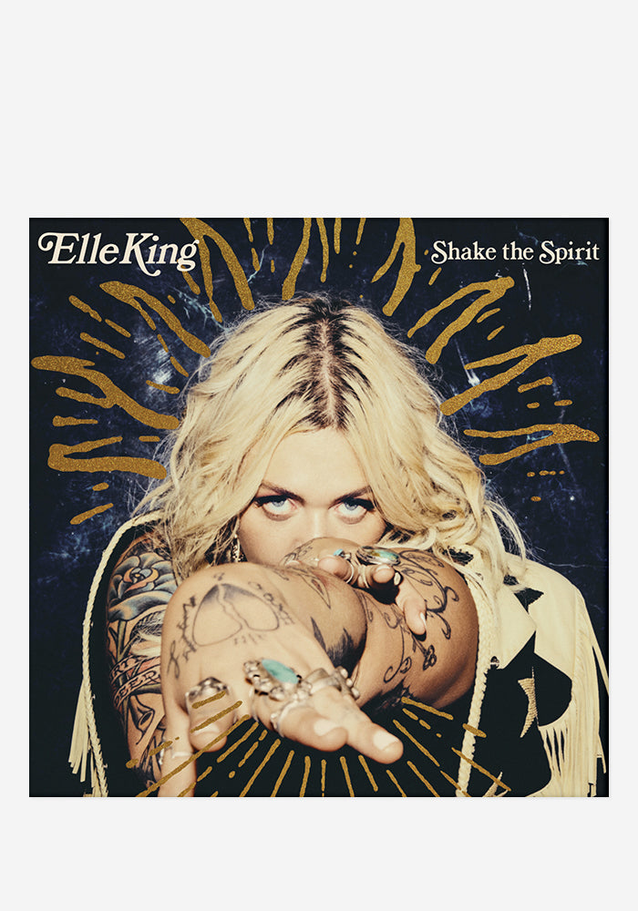 ELLE KING Shake The Spirit CD With Autographed Booklet