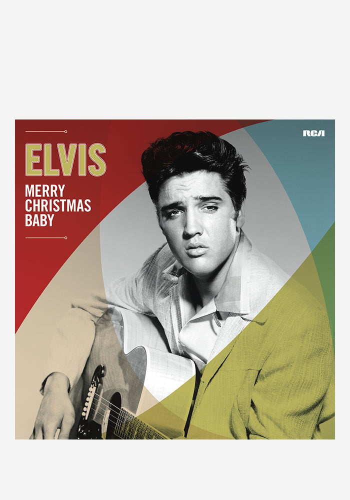 ELVIS PRESLEY Merry Christmas Baby LP