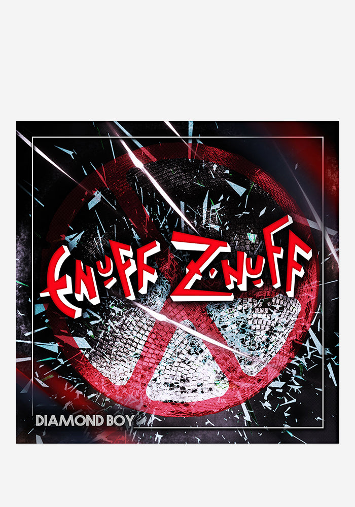 ENUFF Z'NUFF Diamond Boy CD With Autographed Booklet