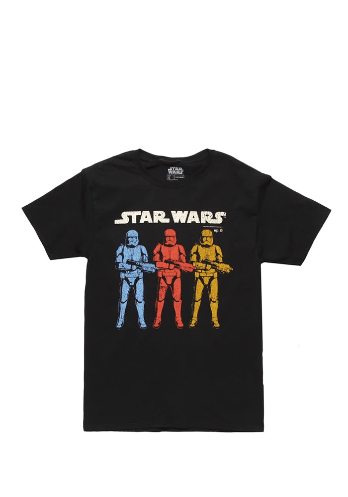STAR WARS Episode 9 Stormtroopers Primary Colors T-Shirt