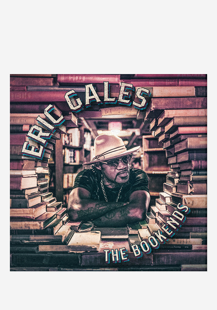 ERIC GALES Bookends CD With Autographed Booklet