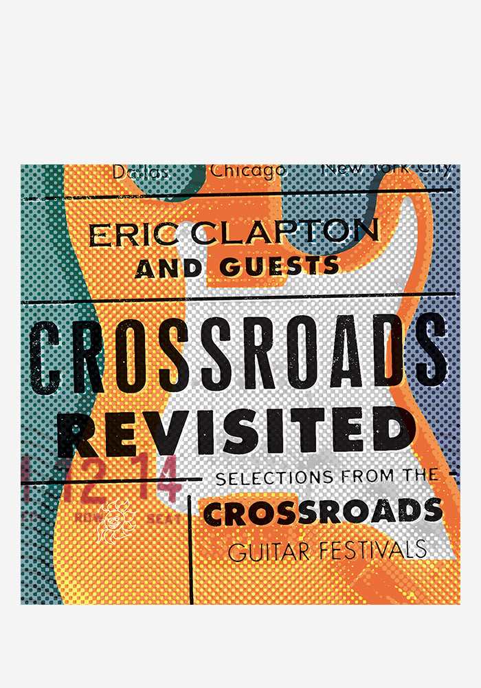 ERIC CLAPTON AND GUESTS Crossroads Revisited: Selections From The Guitar Festivals 6LP Box Set