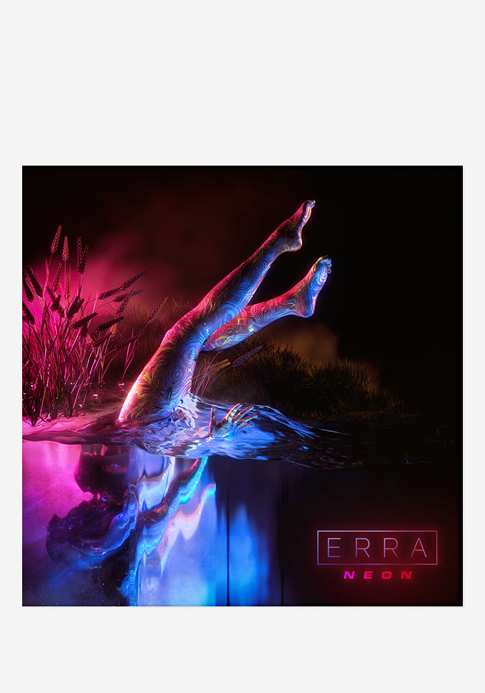 ERRA Neon CD With Autographed Booklet