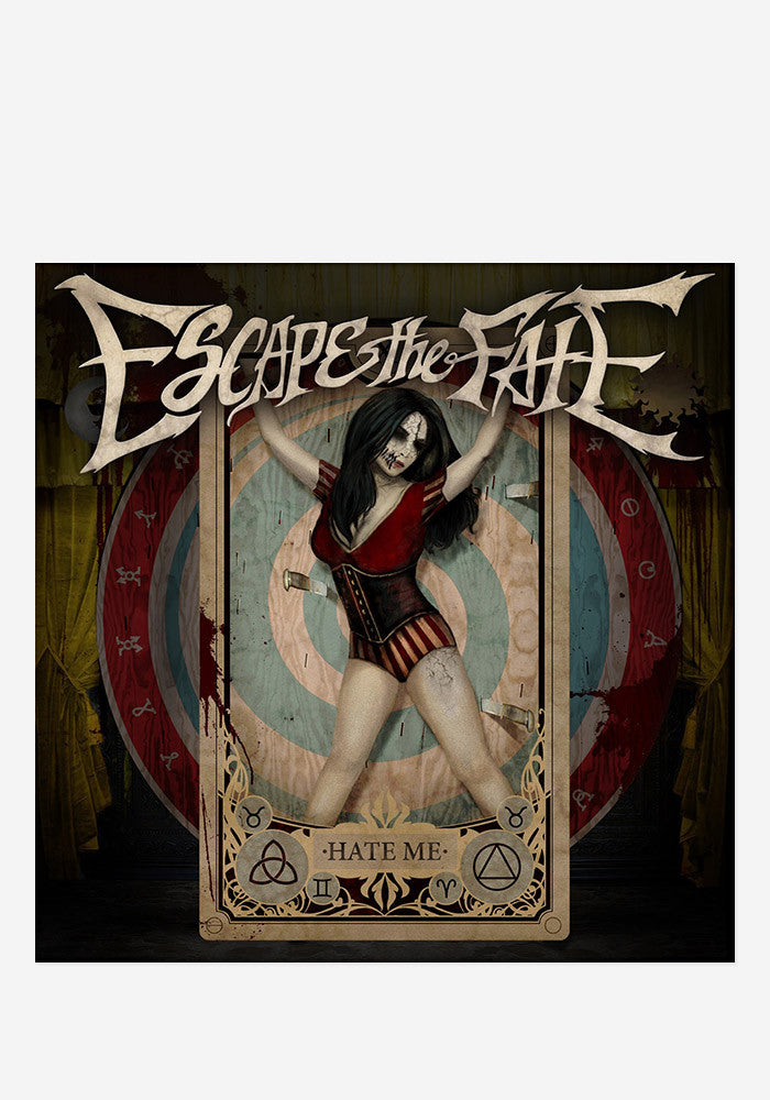 ESCAPE THE FATE Hate Me Deluxe Edition With Autographed CD Booklet