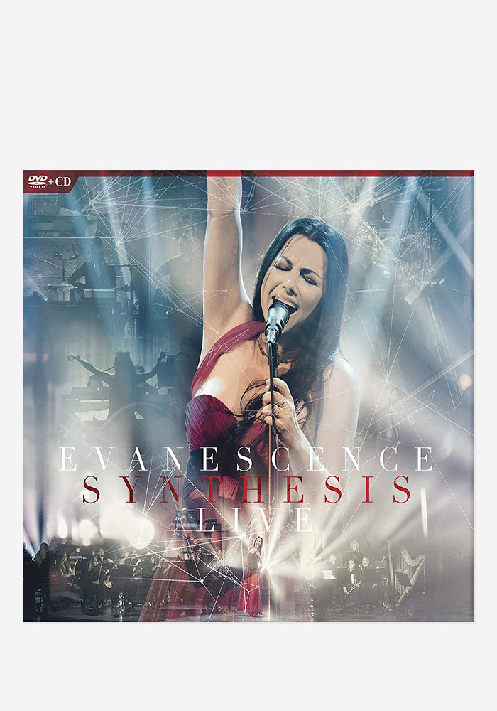 EVANESCENCE Synthesis Live CD/DVD With Autographed Booklet