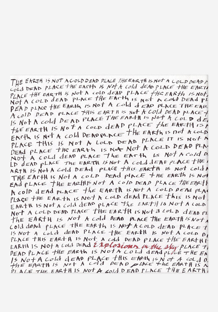 EXPLOSIONS IN THE SKY The Earth Is Not A Cold Dead Place 2 LP
