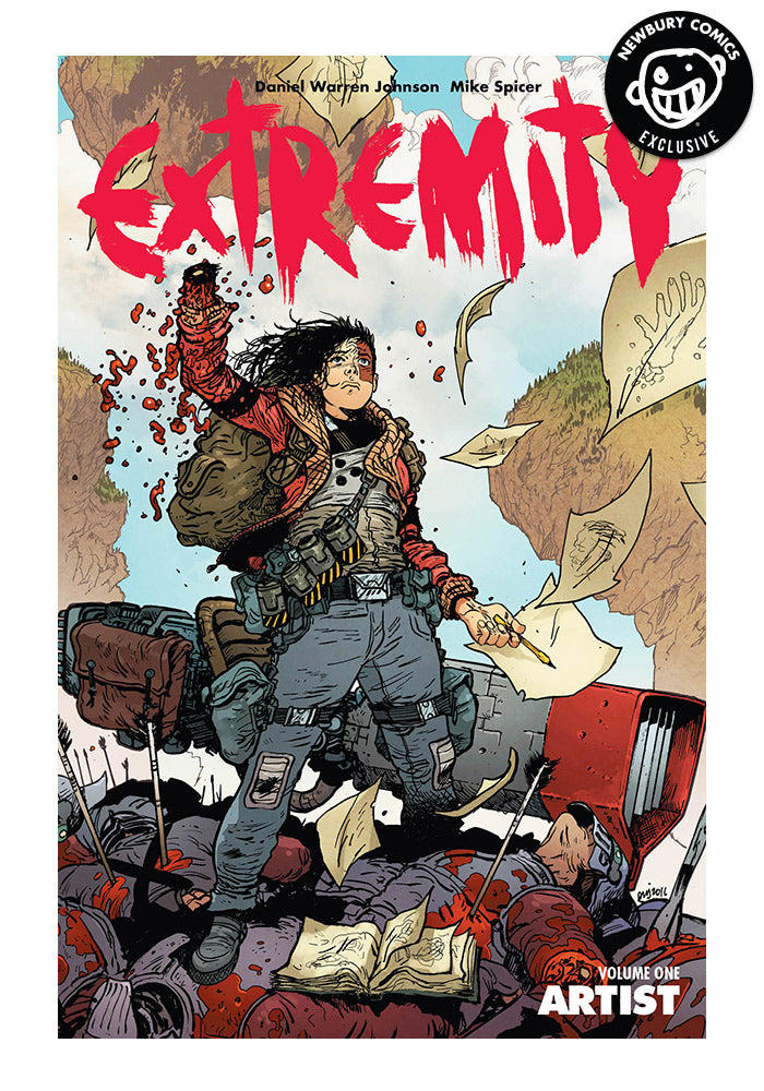 IMAGE COMICS Extremity Vol 1: Artist Exclusive Variant Graphic Novel