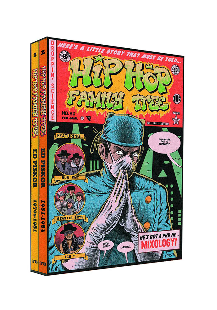 FANTAGRAPHICS Hip Hop Family Tree 1975-1983 Graphic Novel Box Set