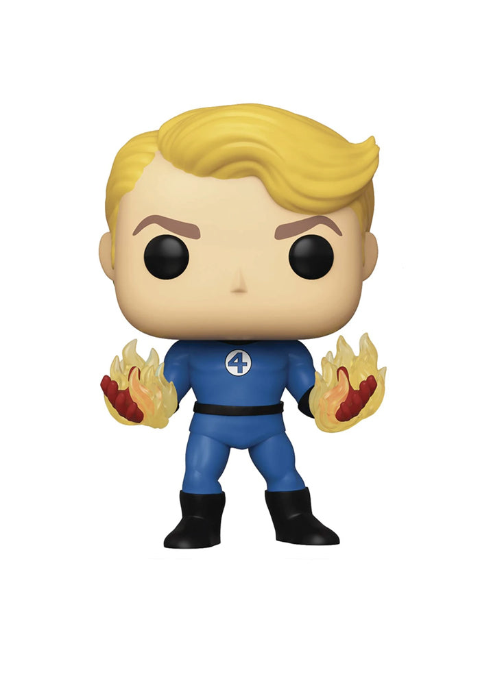 FANTASTIC FOUR Funko Pop! Marvel: Fantastic Four - Human Torch With Flames
