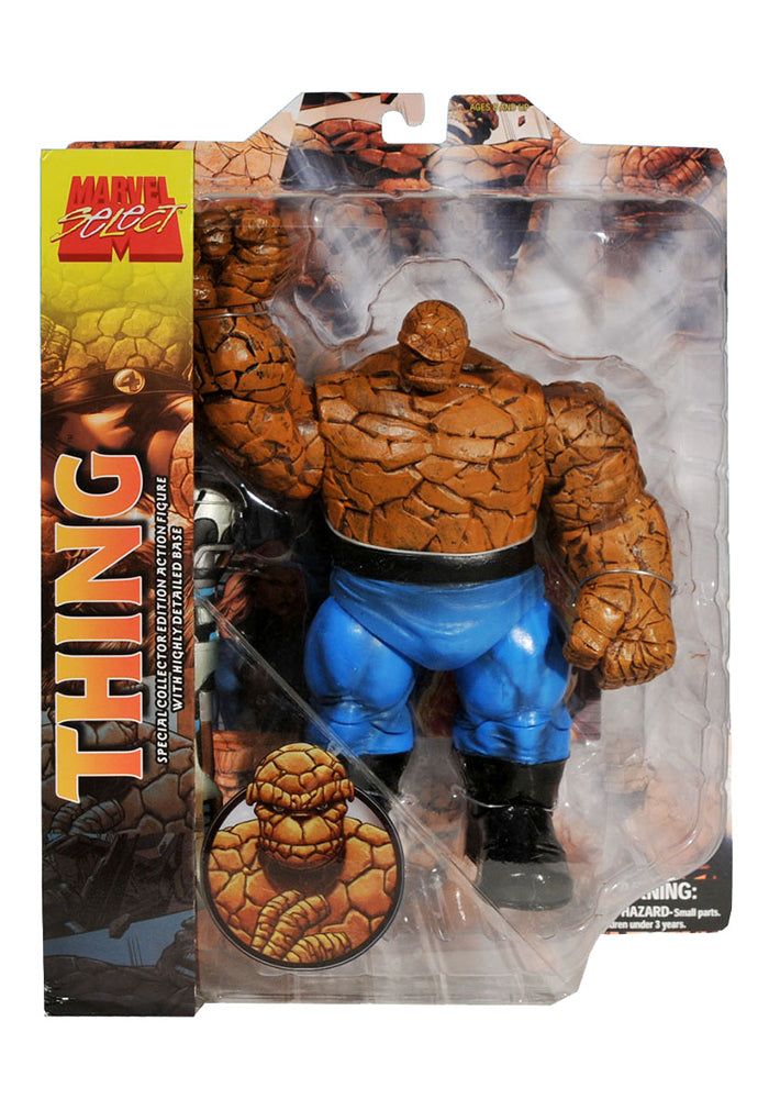 FANTASTIC FOUR Marvel Select 8-Inch Action Figure - The Thing